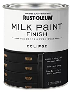 Rust-Oleum 331052 Finish Milk Paint, Quart, Eclipse