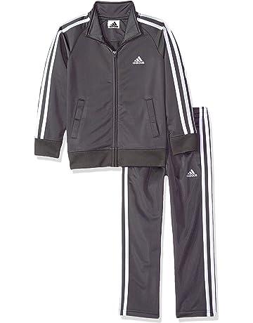 8f76c1abd54 adidas Boys' Tricot Jacket and Pant Set