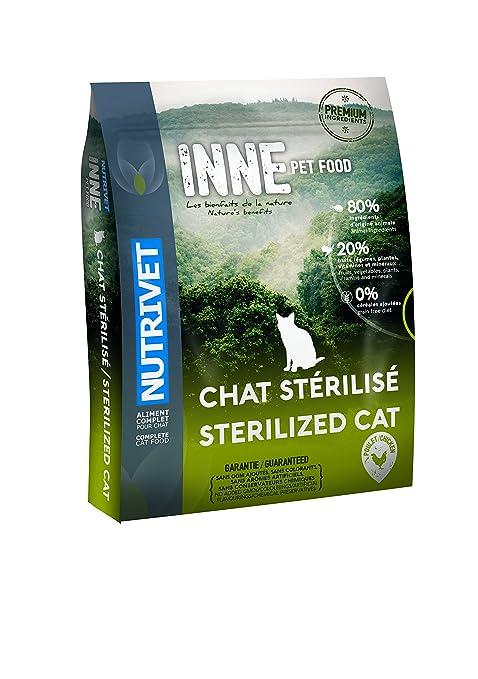 Nutrivet Inne - Comida para Gatos esterilizados, 1,5 kg
