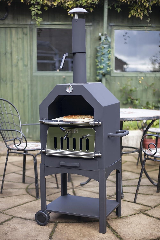 David Jones Kitchen Appliances Amazoncom La Hacienda 56107us Steel Construction Pizza Oven And