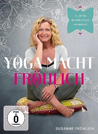 Susanne Fröhlich - Yoga macht Fröhlich Alemania DVD: Amazon ...