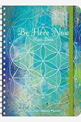 "Ram Dass 2020 - 2021 On-the-Go Weekly Planner: 17-Month Calendar with Pocket (Aug 2020 - Dec 2021, 5"" x 7"" closed): Be Here Now Calendar"