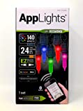 Applights 24 count smooth mini bulb 140 effects 23ft