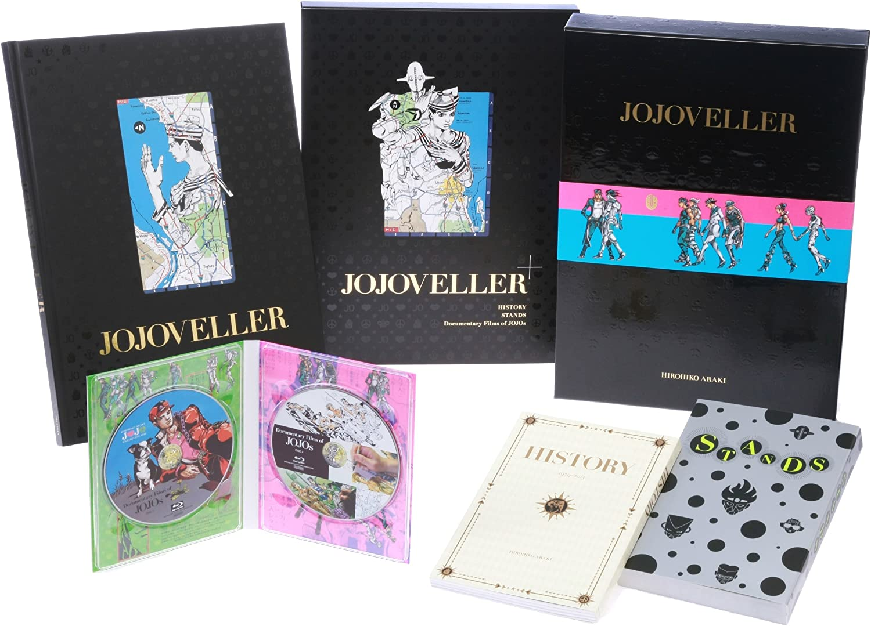 Jojo/'s Bizarre Adventure Art Book JOJOVELLER Limited edition Hirohiko Araki mint