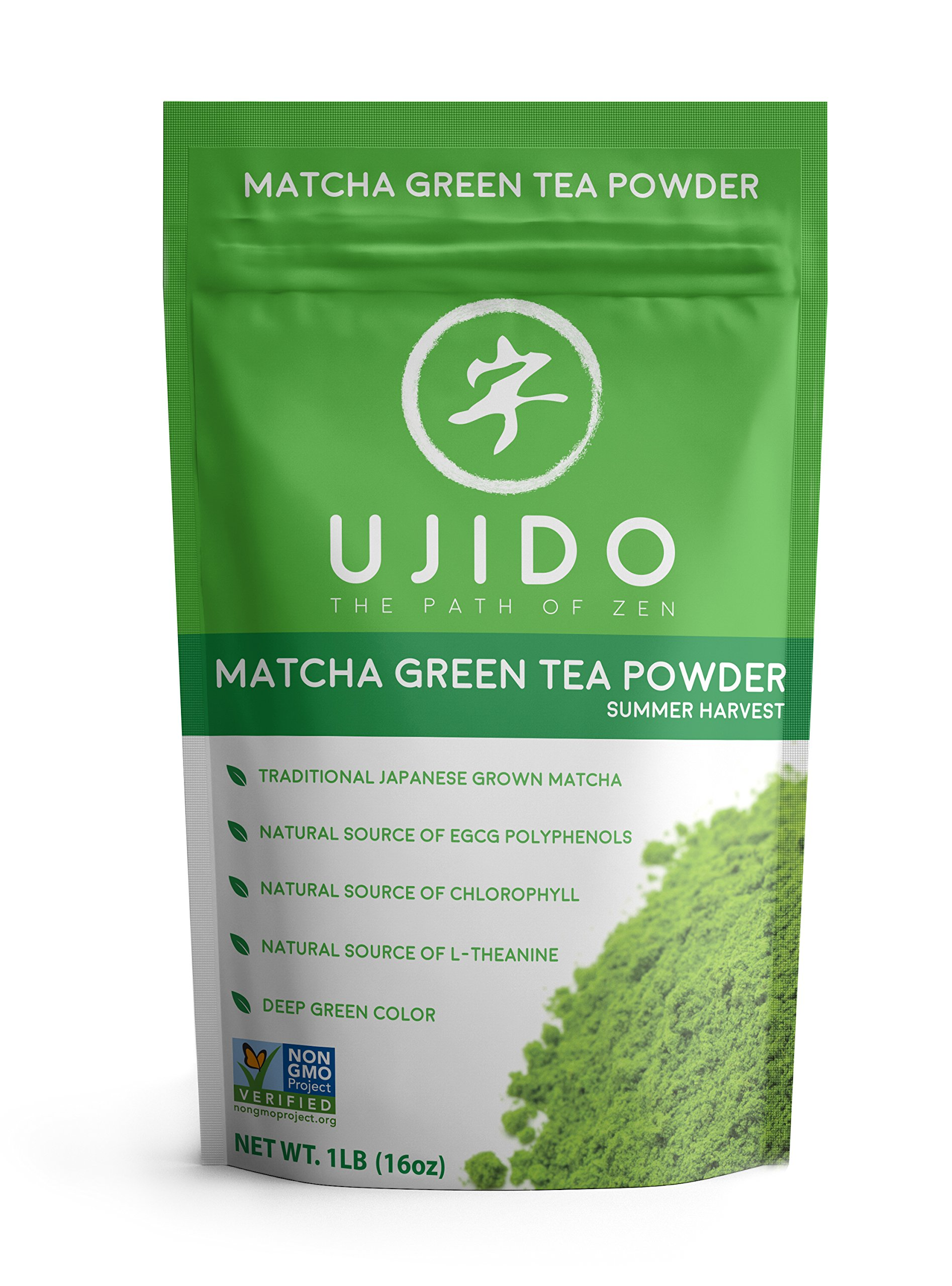 Ujido Japanese Matcha Green Tea, Summer Harvest (16 Ounce) by Ujido
