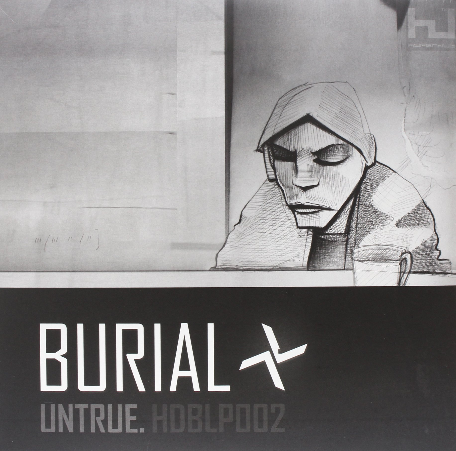 Untrue [Vinyl] by Hyperdub