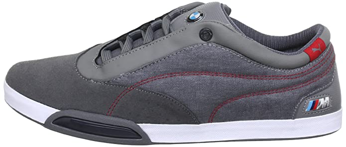 Amazon.com | PUMA Unisex Dorifuto BMW M SERIES 304474 002 STEEL GRAY-R EUR 39 Gray | Shoes