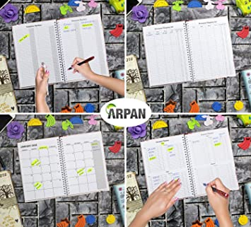Amazon.com : 2020 A5 Week to View Diary Slogan Art Busy Life ...