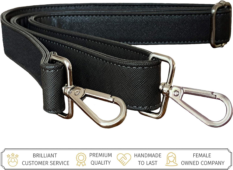 BFB Replacement Shoulder Strap - Compatible with Messenger Bag Purse Handbag Laptop Bag Briefcase Travel Tote