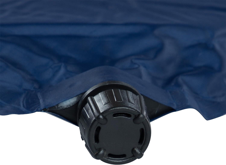 plegada ocupa muy poco espacio ideal para el camping ultraligera y c/ómoda; impermeable colchoneta para el exterior colchoneta t/érmica en 3 grosores Ultrasport Aislante autoinflable // colchoneta autoinflable