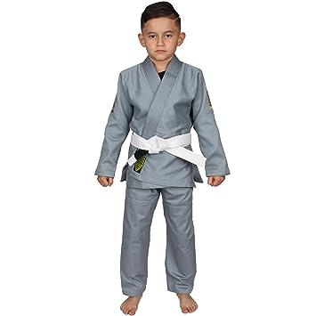 Hypnotik Vortex Youth Lightweight BJJ Jiu Jitsu Gi with Preshrunk Fabric &  Free Belt
