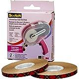 Scotch Brand Scotch Advanced Tape Glider, Pink Applicator with 2 Rolls of 1/4 intape, Cat #085, 1 kit/Carton