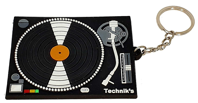 LLAVERO GOMA GIRADISCOS PARA DJ RBK-0139 REGALO MUSICAL ROCKMUSIC ...