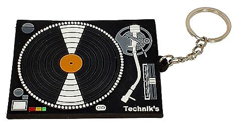 LLAVERO GOMA GIRADISCOS PARA DJ RBK-0139 REGALO MUSICAL ...