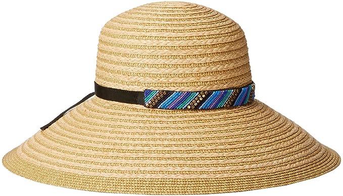Gottex Women s Women s Marrakesh Raffia Packable Sun Hat 857fa8c9340f