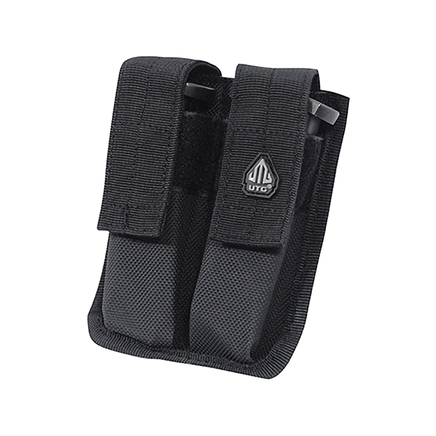 Amazon com utg dual pistol mag pouch velcro close airsoft holsters sports outdoors