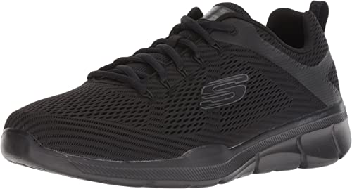 Skechers Herren Equalizer 3.0 52927 Sneaker, Grau (Charcoal Black Ccbk)