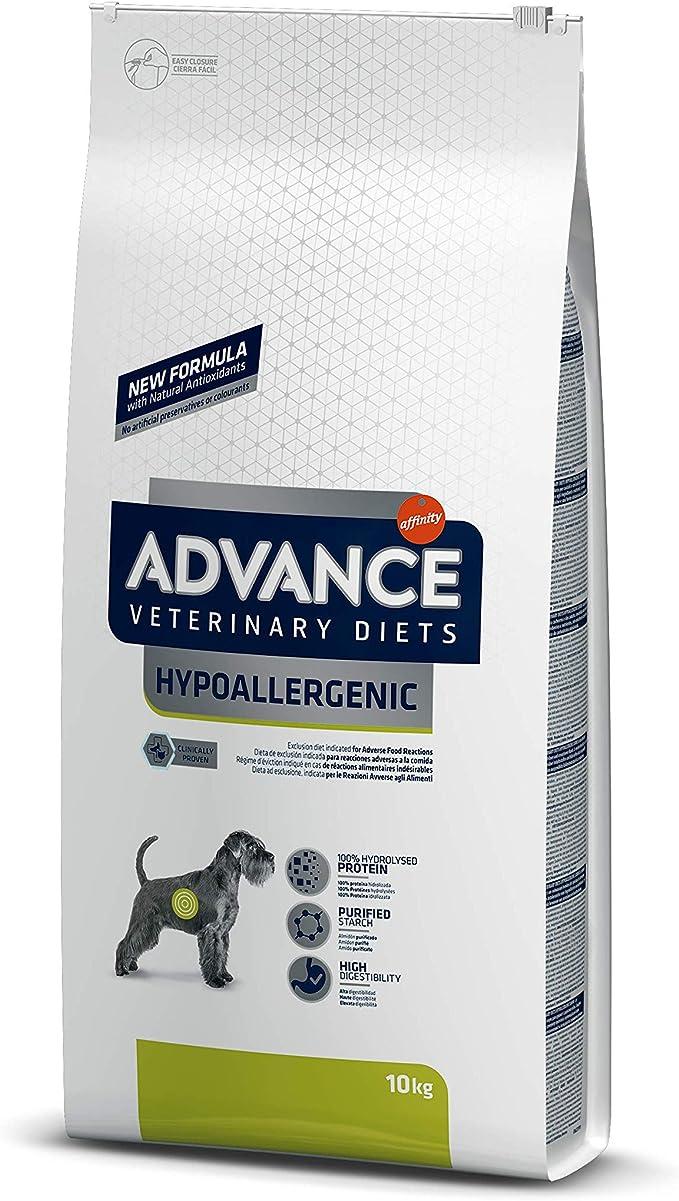 Advance Veterinary 591410 Diets Hypoallergenic - Pienso hipoalergénico para Perros con intolerancias alimentarias - 10 kg: Amazon.es: Productos para mascotas