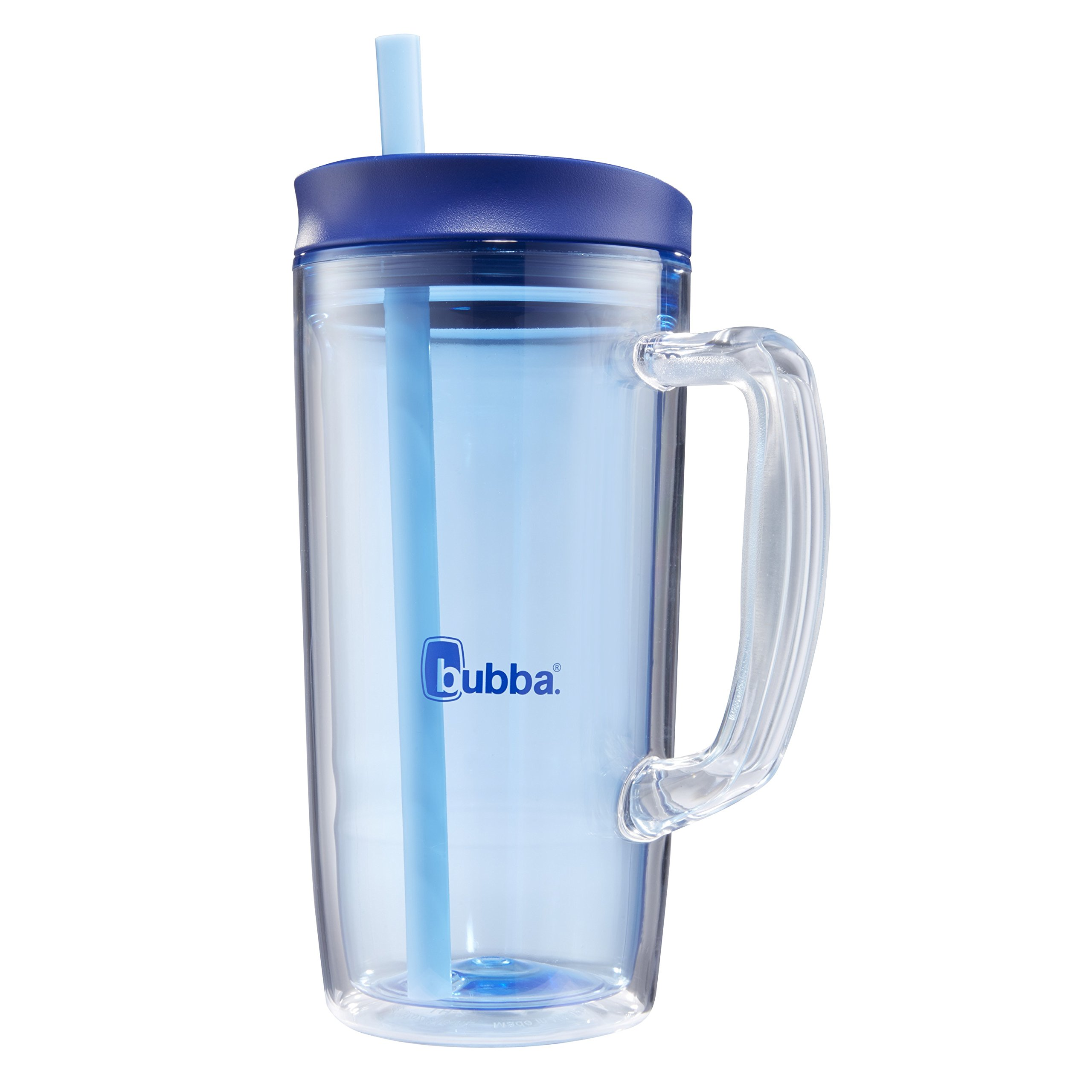 Bubba Envy Double Wall Insulated Straw Tumbler with Handle, 32 oz, Blue by BUBBA BRANDS (Image #3)