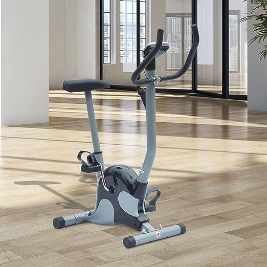 HOMCOM Bicicleta Estática de Spinning Fitness Altura Ajustable ...