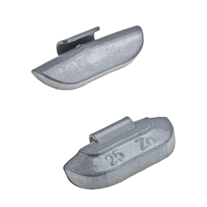 Stix 5-25g 200x Schlaggewichte Sortiment Auswuchtgewichte Wuchtgewichte Sortiment f/ür Stahlfelgen