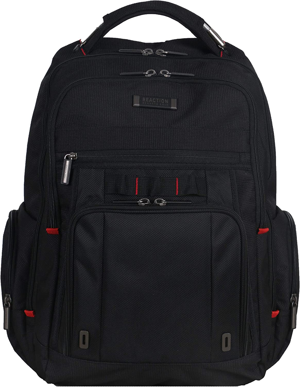 Kenneth Cole Reaction Dual Compartment With Usb Port (rfid) Laptop Backpack