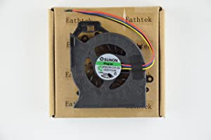 Eathtek Replacement CPU Cooling Fan for HP Pavilion dv7-6001xx dv7-6070ca dv7-6113cl dv7-6123cl dv7-6135dx dv7-6143cl dv7t-6b00 dv7t-6c00 dv7t-6100 Series