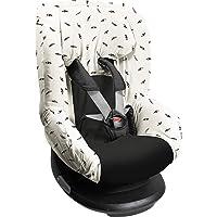 Dooky Black Feather Funda De Asiento Infantil (Ajuste Universal Para Muchos Modelos Populares, Grupo De Edad 1+ 9-18 Kg…