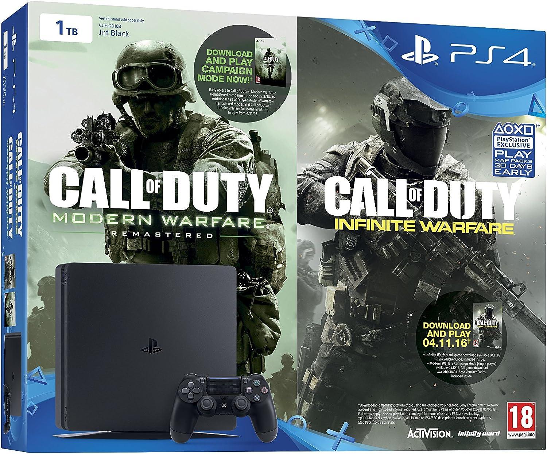 Sony Playstation 4 1 TB + Call Of Duty: Infinite Warfare Early Access Bundle [Importación Inglesa]: Amazon.es: Videojuegos
