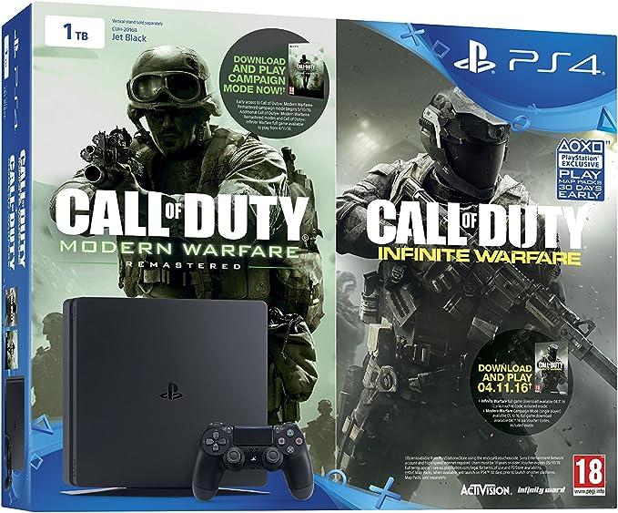 Sony Playstation 4 1 TB + Call Of Duty: Infinite Warfare Early ...