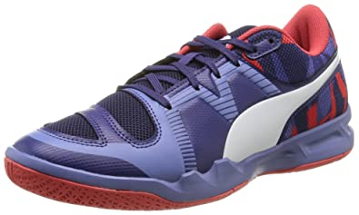 9353e0dcd037 PUMA evoIMPACT 5 Womens Indoor Court Sneakers Shoes-Blue-6.5