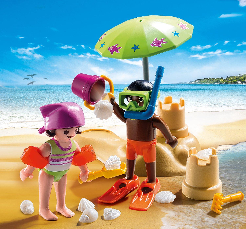 PLAYMOBIL/® Children at The Beach Building Set Playmobil Cranbury 9085