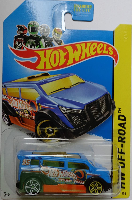 HW HOT WHEELS 2014 HW OFF-ROAD #110//250 FAST 4WD HOTWHEELS ORANGE DRIFT CAR VHTF