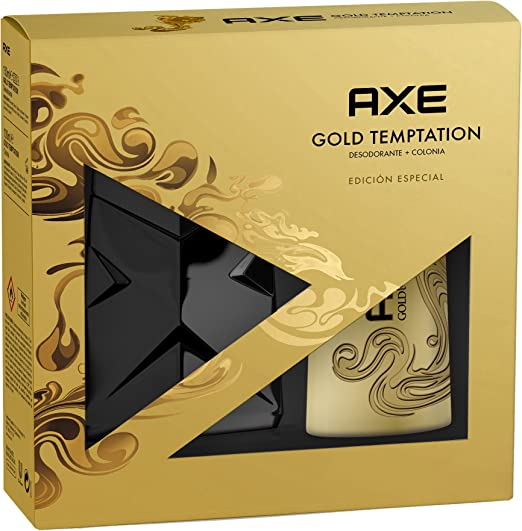 Axe Gold Agua De Colonia + Desodorante - 1 Pack: Amazon.es: Belleza