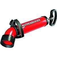 Rothenberger Ropump Super Plus 072070X zuigdrukreiniger (hoge zuig- en drukkracht, lange adapter voor toilet)