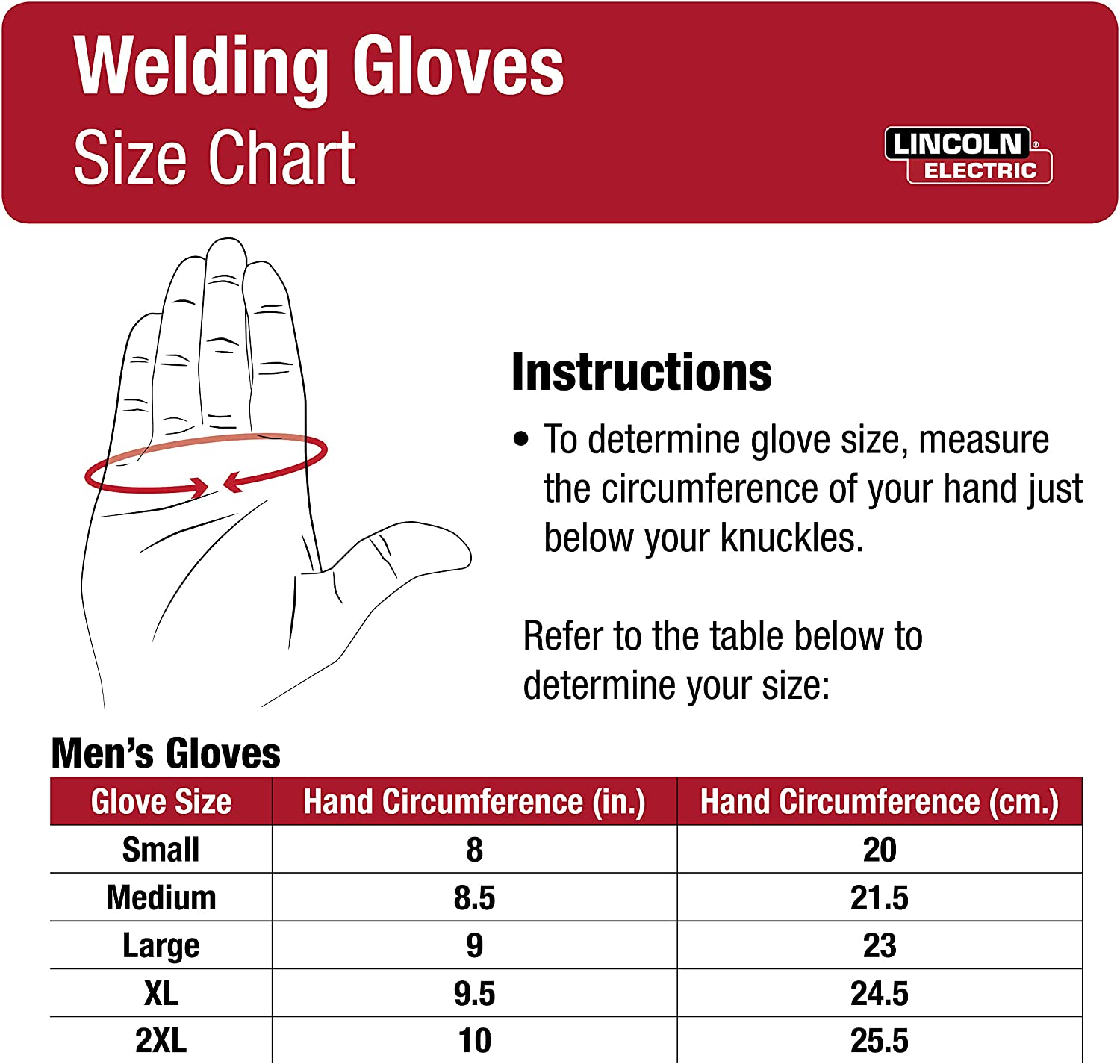 Extra Large Comfort /& Heat Resistance Lincoln Electric DynaMIG HD Professional MIG Welding Gloves K3806-XL