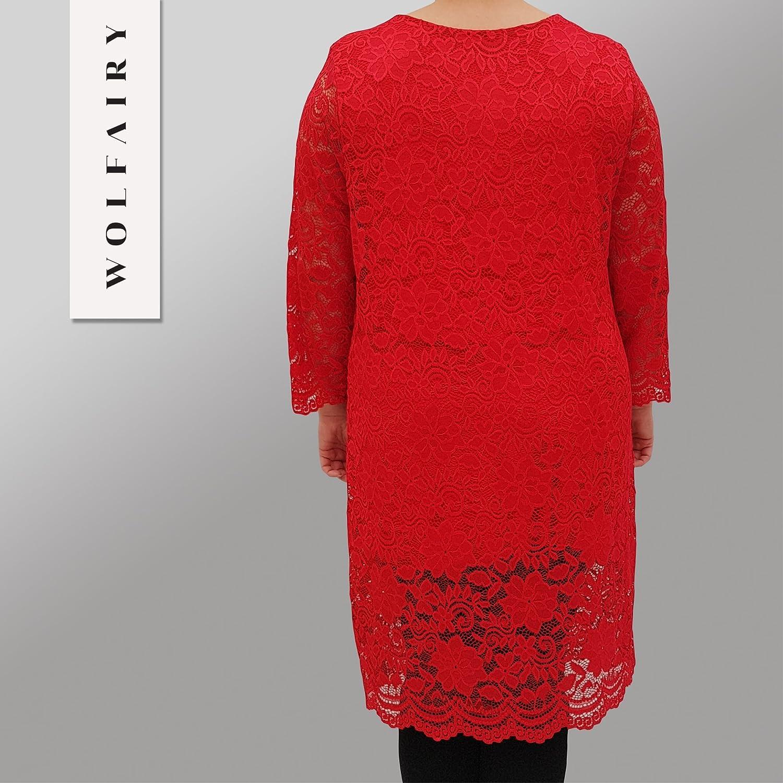 Wolfairy Women's Plus Size Dress Bodycon DRE New Cocktail Pencil Stretch:  Amazon.co.uk: Clothing