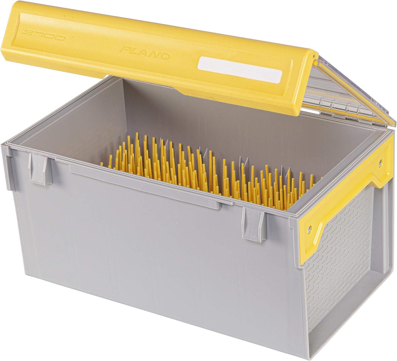 Plano Edge Master Crankbait XL - Almacenamiento para aparejos de aparejos, con prevención de óxido, transparente/amarillo: Amazon.es: Deportes y aire libre