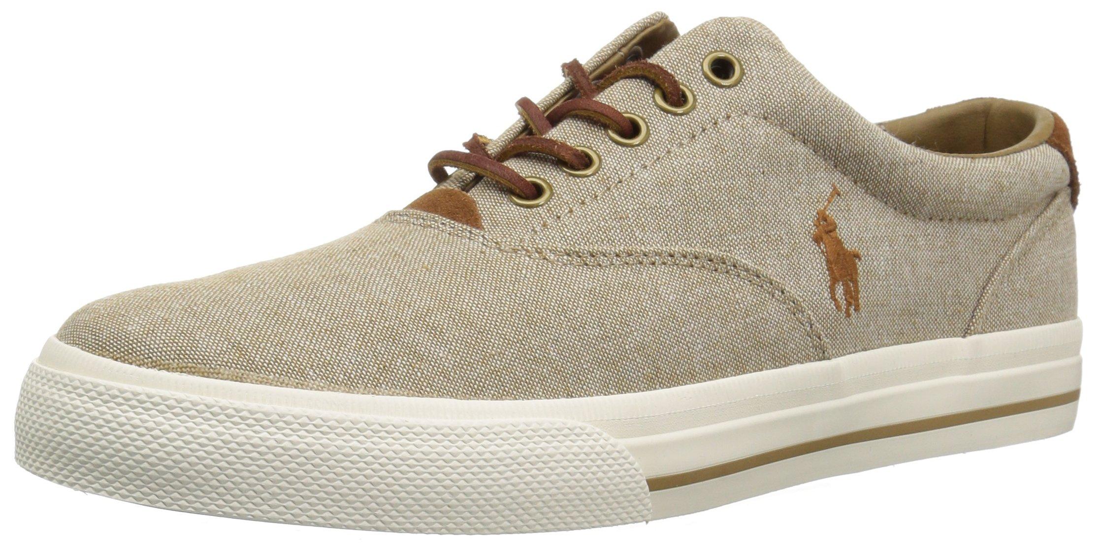 a0b20caeccaa Galleon - Polo Ralph Lauren Men s Vaughn Sneaker Khaki 9 D US
