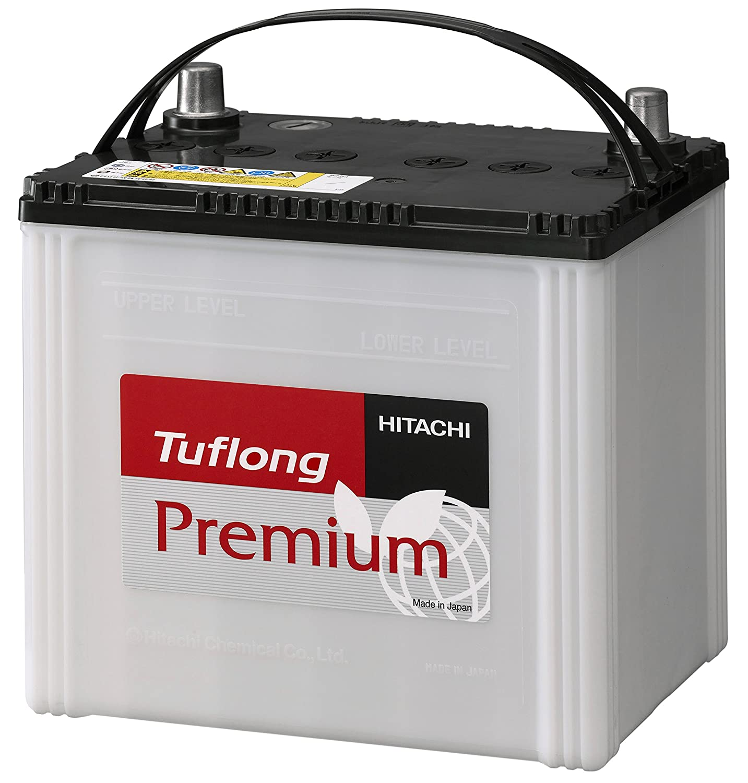 HITACHI [ 日立化成株式会社 ] 国産車バッテリー アイドリングストップ車&標準車対応 [ Tuflong Premium ] JP AQ-85R/95D23R B07B52XXW7
