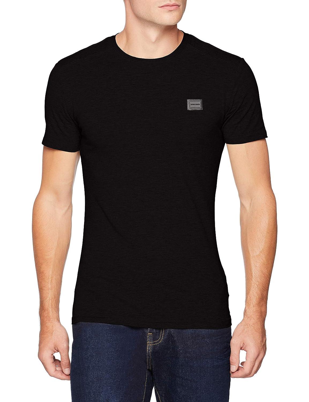 Antony Morato T Shirt Sport Girocollo con Placchetta Camiseta para Hombre