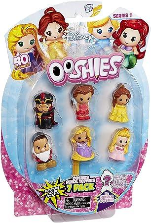 Bizak - ooshies - Princesas Disney - Pack 7 Personajes (Varios Modelos): Amazon.es: Juguetes y juegos