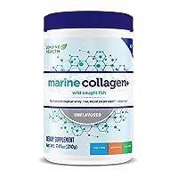 Genuine Health Marine Collagen+, Unflavored Hydrolyzed Collagen Powder, Wild Caught...