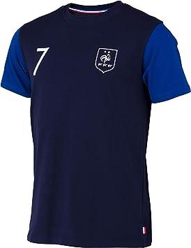 Camiseta FFF Antoine Griezmann, colección oficial de la selección de fútbol de Francia, talla para hombre adulto: Amazon.es: Deportes y aire libre