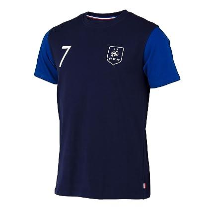 FFF – Camiseta oficial de la selección de Francia de fútbol – Antoine Griezmann – Talla infantil, Niño, azul, 4 años: Amazon.es: Deportes y aire libre