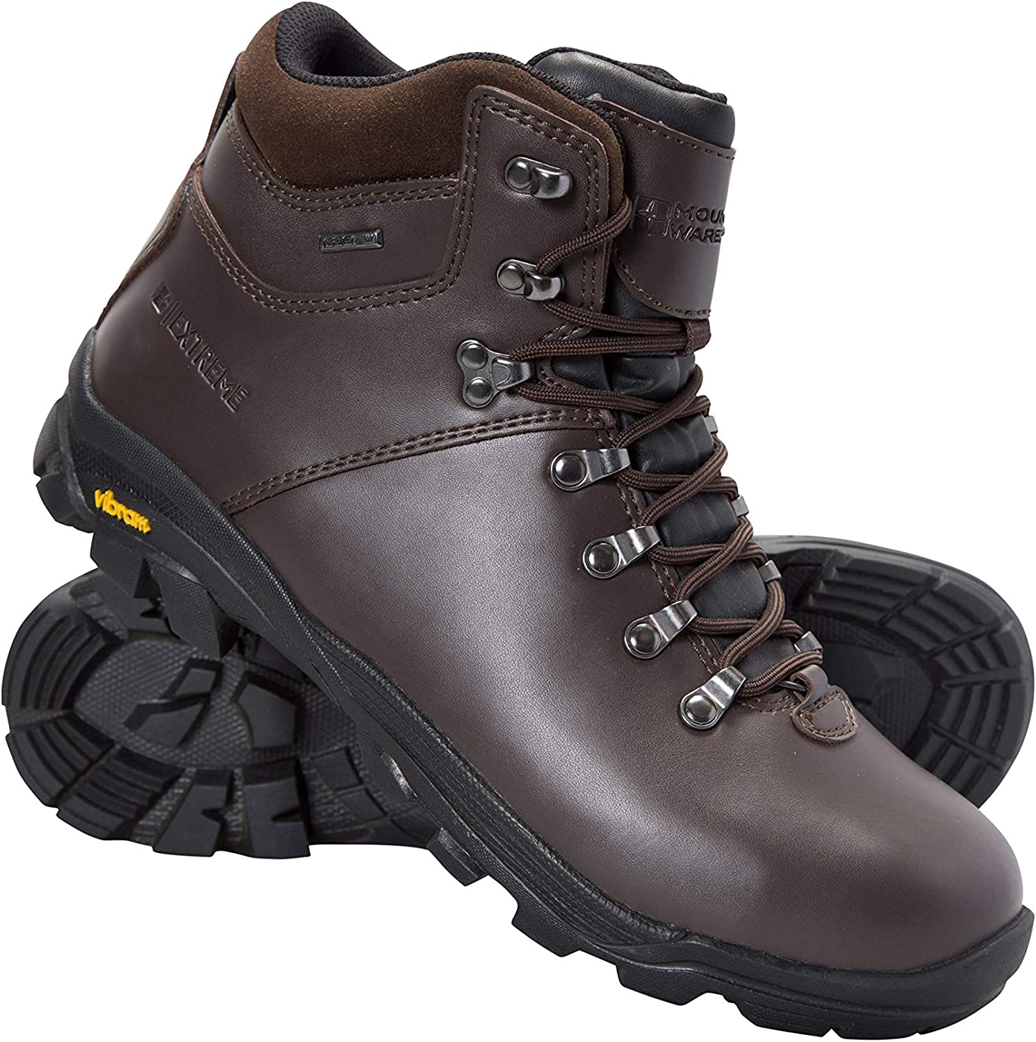 Mountain Warehouse Brecon Mens Waterproof Vibram Hiking Boots