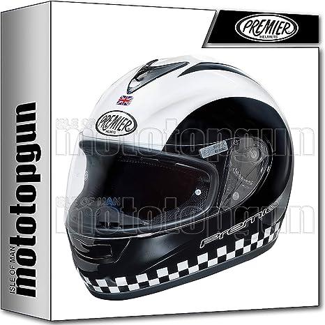 MOTOTOPGUN Premier casco de Moto Integral Monza Retro XS
