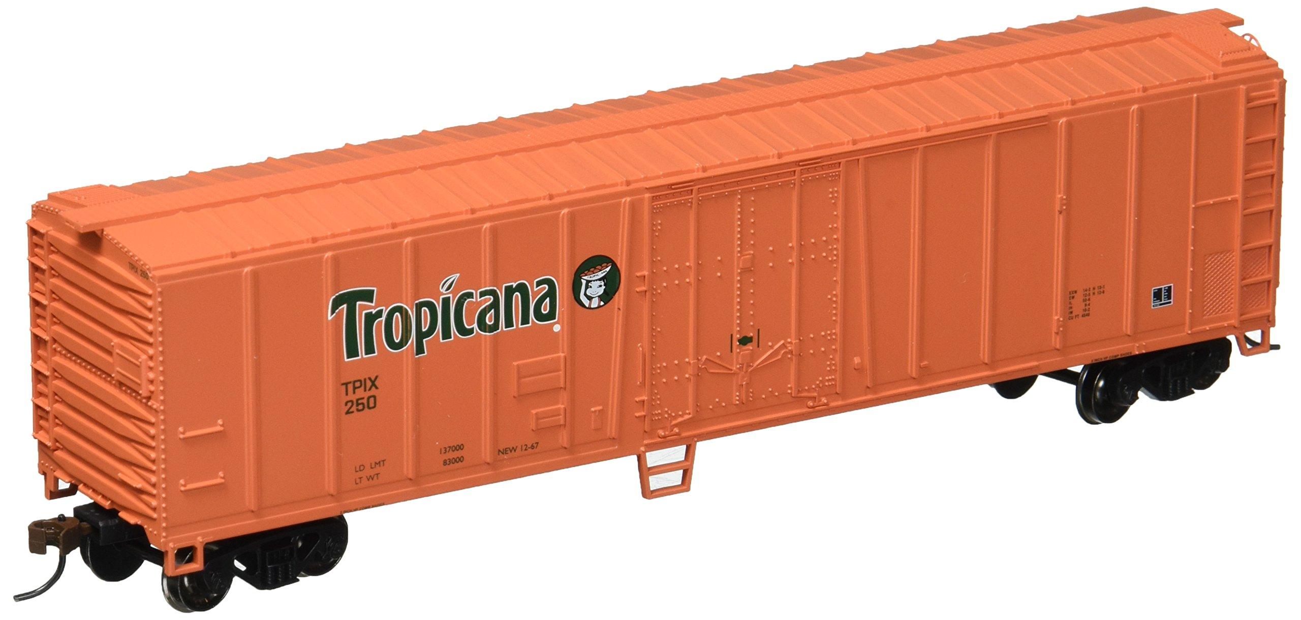 Bachmann Industries 50' Steel Reefer - Tropicana Orange (HO Scale)