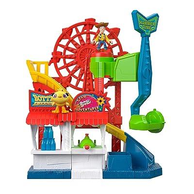 Fisher-Price Disney Pixar Toy Story 4 Carnival Playset: Toys & Games