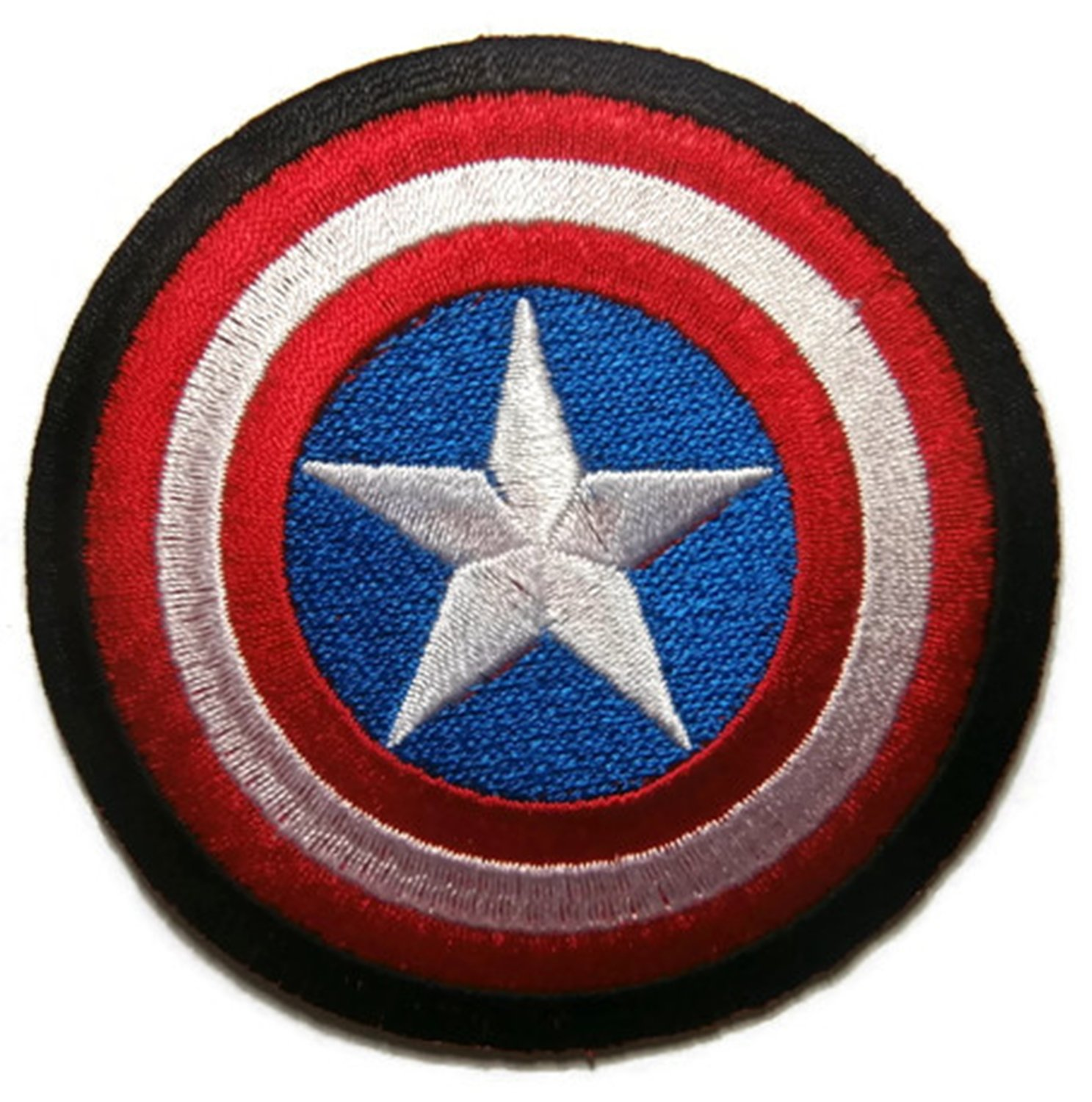 #29 Captain America Shield Avengers Iron//Sew on Embroidered patch